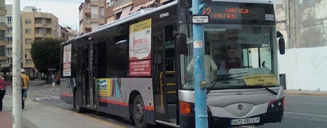 Летнее расписание гор. автобусов в Торревьехе